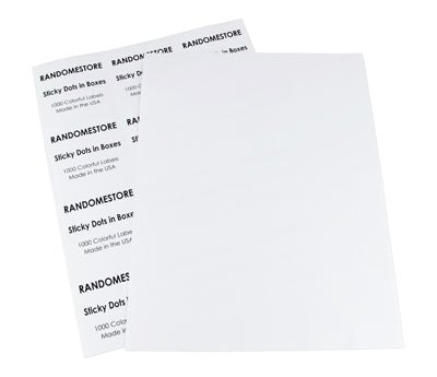 "2.75"" x 2.75"" Printable Labels"