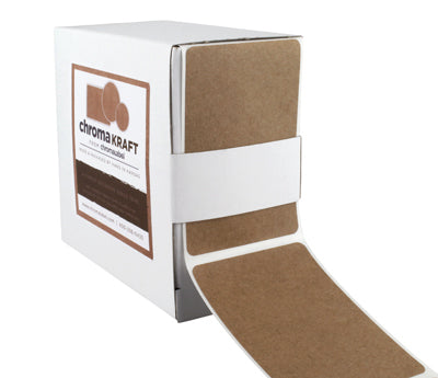 2 x 3 True Kraft Paper Rectangles: 250/Box