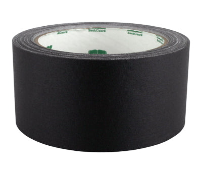 "2"" Black Premium Cloth Book Tape"