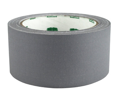 "2"" Gray Premium Cloth Book Tape"