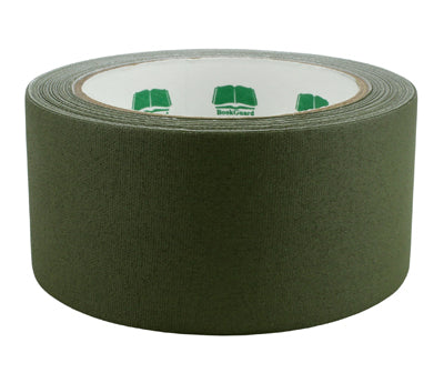 "2"" Olive Premium Cloth Book Tape"