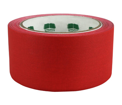 "2"" Red Premium Cloth Book Tape"