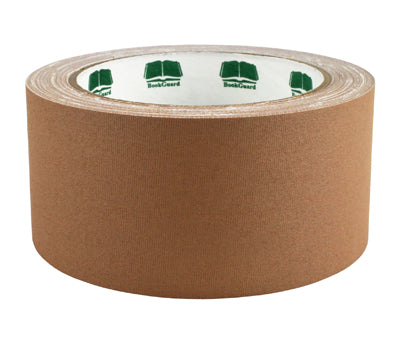 "2"" Tan Premium Cloth Book Tape"