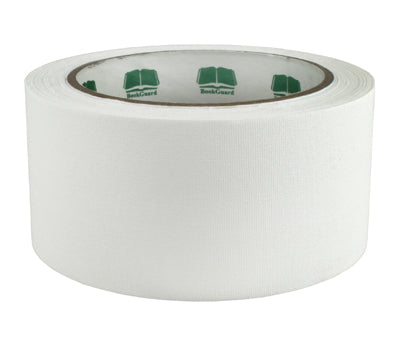 "2"" White Premium Cloth Book Tape"