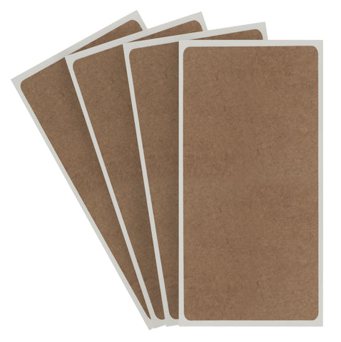 True Kraft Paper Rectangles: 100/Pack