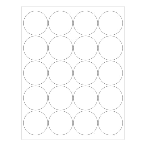 Printable Labels 2 Inch Round