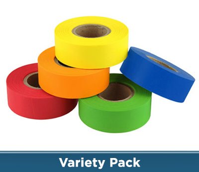 "0.75"" Color Code Tape 5 Colors Kit"