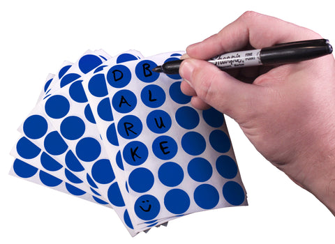 "0.75"" Removable Sheeted Writable Dots"