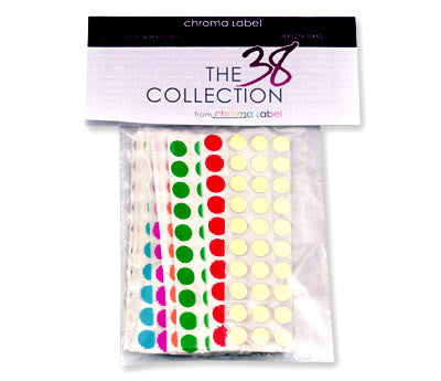 38 Collection Color Coding Stickers
