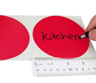 "4"" Write-On Sticker Dots"