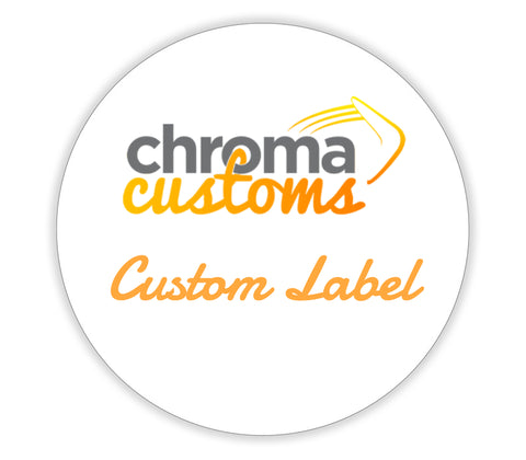 Custom Label, Paper Round 2""
