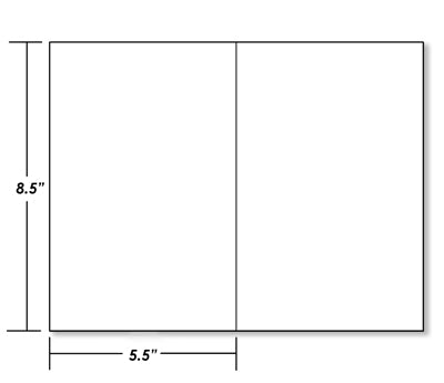picture about Rectangle Printable identified as 8.5\