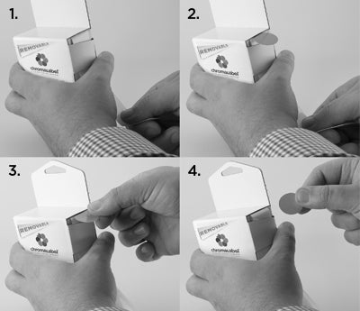 "How to Dispense 1"" Dots"