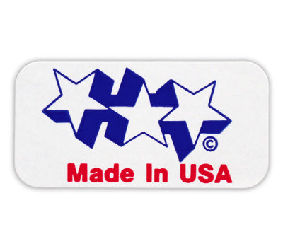 Made in U.S.A. Stickers - 5/8