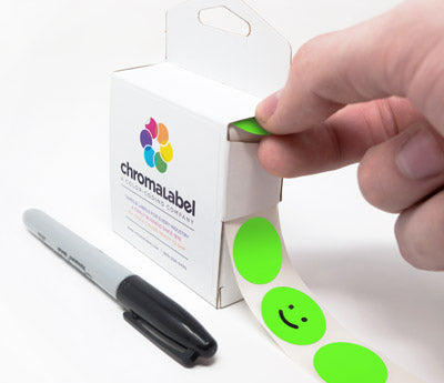 "1"" Adhesive Sticker Dot Dispensing"