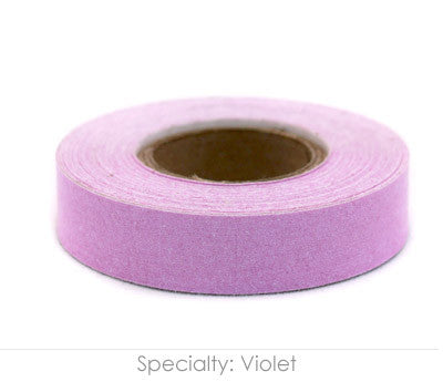 "0.5"" Removable Violet Labeling Tape"