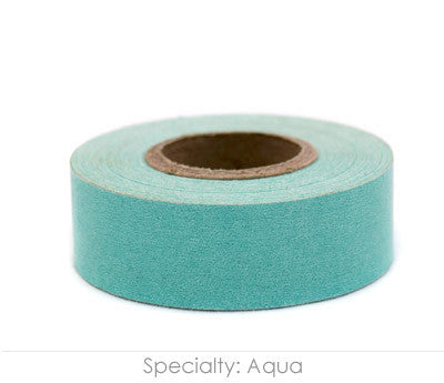 "0.75"" Removable Aqua Labeling Tape"