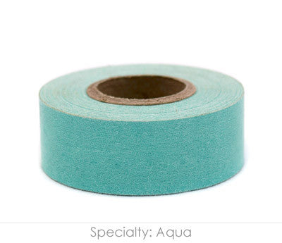 "1"" Removable Aqua Labeling Tape"