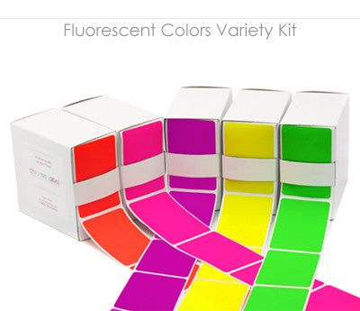 Color-Code Rectangle Square Labels in Dispenser Boxes   Buy 30+ ...