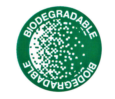 "Green Dot Labels Says ""Biodegradable"""