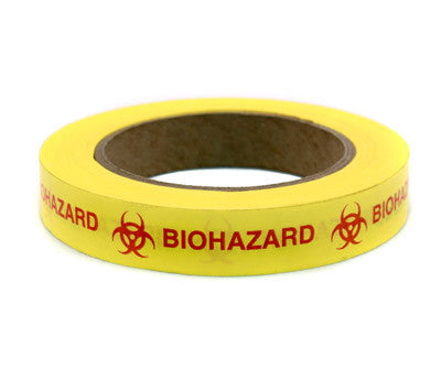 Clean-Remove Biohazard Safety Tape