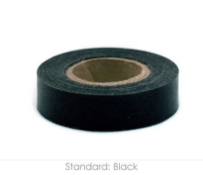 Black Paper Tape, 14yd Roll