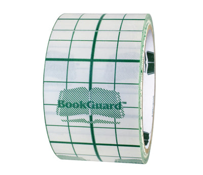 2 BookGuard™ Vinyl Book-Repair Tape w/ Liner: 10 yds
