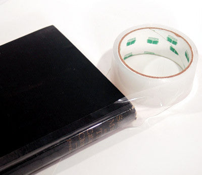 Clear Polyethylene Book Repair Tape