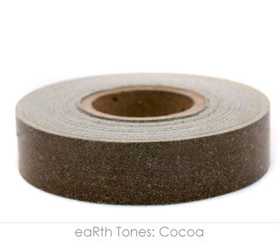 "0.5"" Removable Cocoa Labeling Tape"