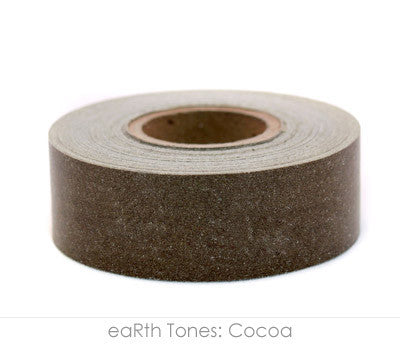 "1"" Removable Cocoa Labeling Tape"
