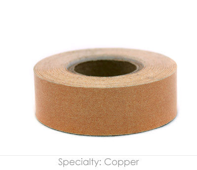 "0.75"" Removable Brown Labeling Tape"