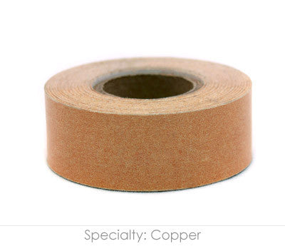 "1"" Removable Copper Labeling Tape"