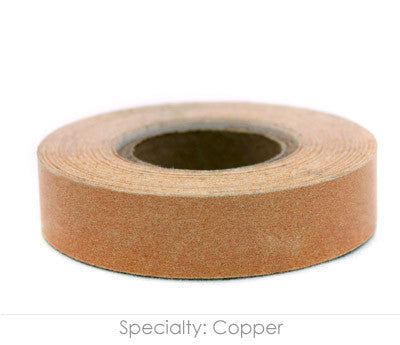 Copper Colored Naming Tape, 14yd Roll