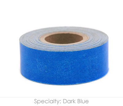 "1"" Removable Dark Blue Labeling Tape"