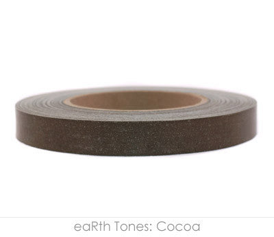 "0.75"" Removable Cocoa Labeling Tape"