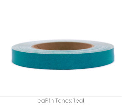 "0.75"" Removable Teal Labeling Tape"