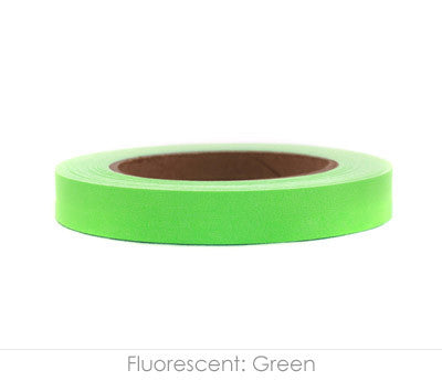 "0.75"" Removable Neon Green Labeling Tape"