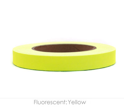 "0.75"" Removable Neon Yellow Labeling Tape"