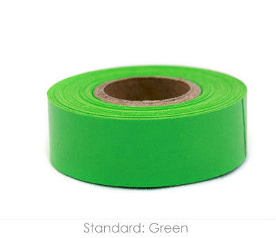 "0.75"" Removable Green Labeling Tape"