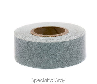 "1"" Removable Gray Labeling Tape"