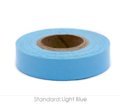 "0.5"" Removable Light Blue Labeling Tape"