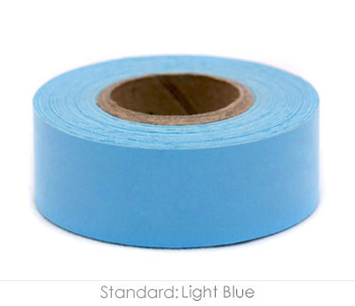 "1"" Removable Light Blue Labeling Tape"