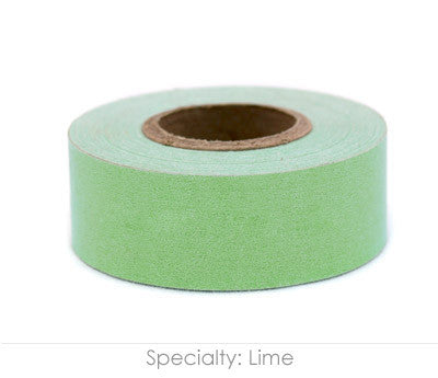 "1"" Removable Lime Labeling Tape"
