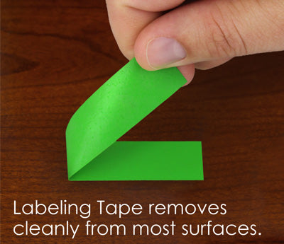 Tape Removes Cleanly from Delicate Surfaces
