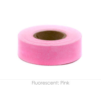 "0.75"" Removable Fluorescent Pink Labeling Tape"