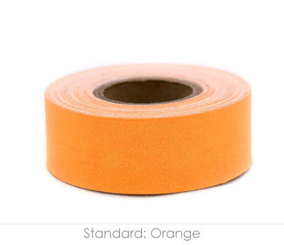 "1"" Removable Orange Labeling Tape"