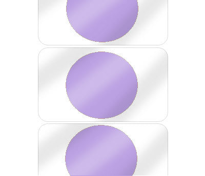 "5/8"" Lavender Pre-Laminated Dot Labels"
