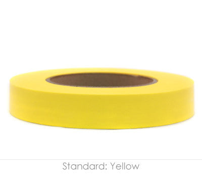 "1"" Removable Yellow Labeling Tape"