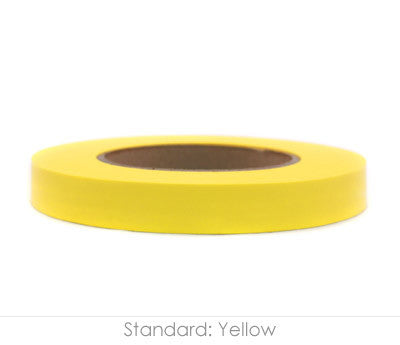 "0.75"" Removable Yellow Labeling Tape"