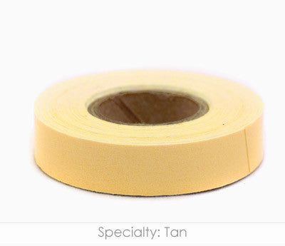 "0.5"" Removable Tan Labeling Tape"